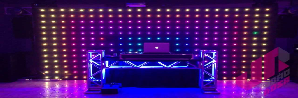 Cortina de Led 6x4 DMX